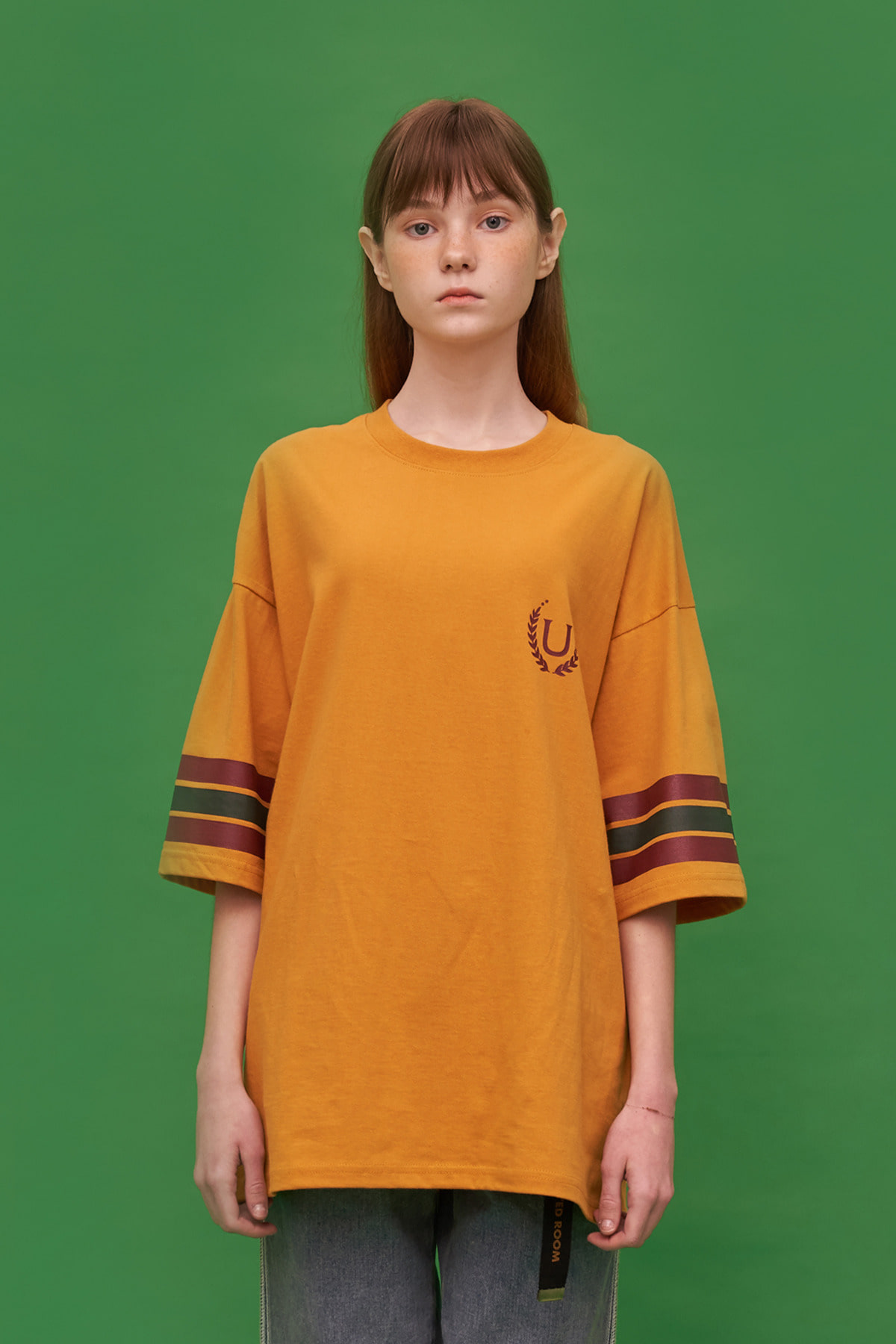 LAUREL T SHIRT / MUSTARD