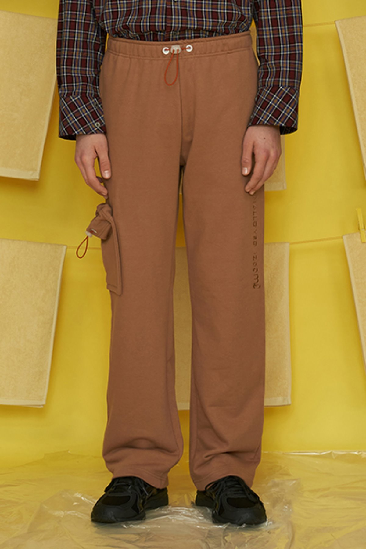 POCKET SWEATPANTS / CAMEL