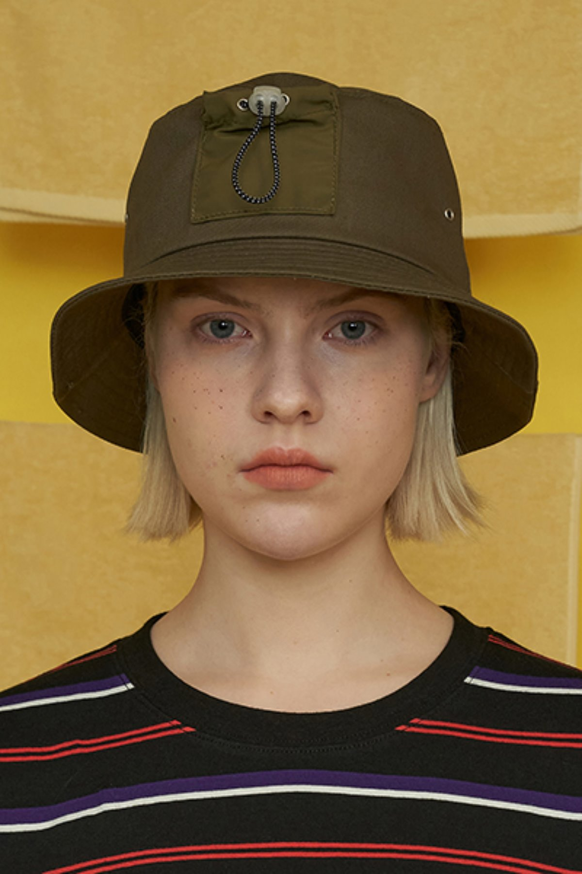 POCKET BUCKET HAT / KHAKI
