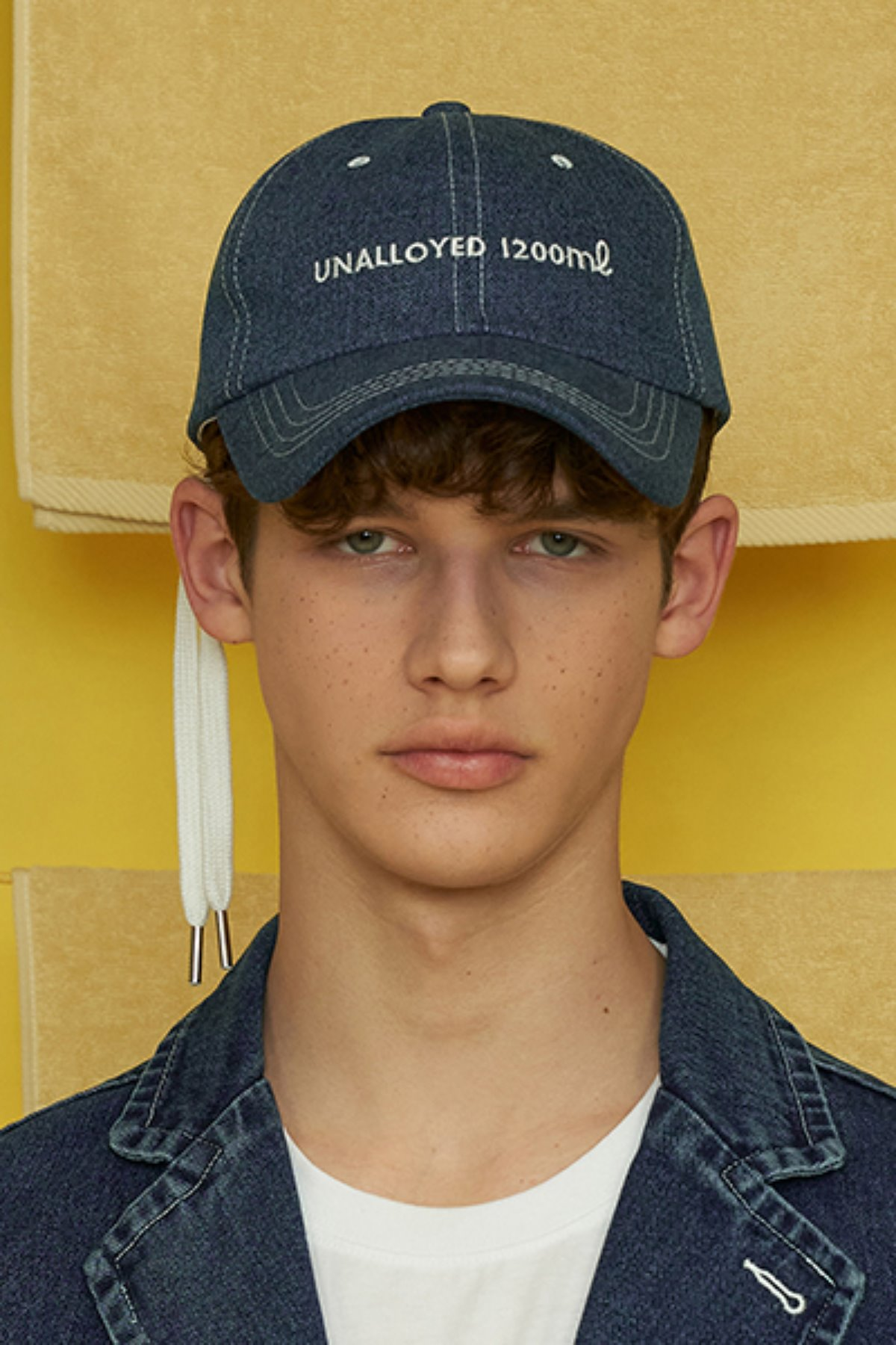 STRING BALLCAP / DENIM