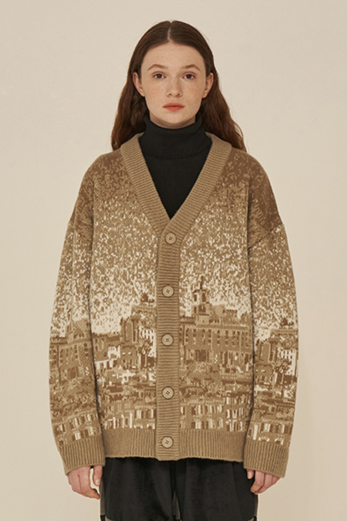 CITY CARDIGAN / BEIGE